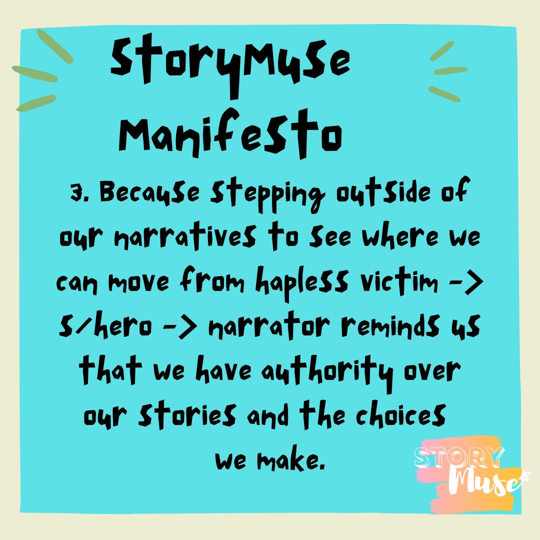 StoryMuse Manifesto
